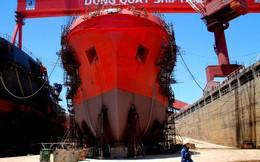 Thảm cảnh phía trong nhà máy đóng tàu nghìn tỉ bên bờ phá sản