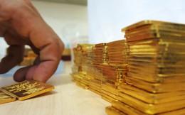 Giá vàng miếng tăng khá mạnh, chỉ còn cao hơn thế giới 400 nghìn đồng/lượng