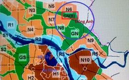 Điều chỉnh cục bộ quy hoạch phân khu đô thị GN tại Mê Linh (Hà Nội)