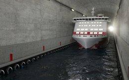Na Uy phá vỡ mọi giới hạn với kế hoạch xây hầm vượt núi cho tàu thủy đầu tiên trên thế giới