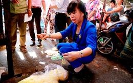 Dùng hàng trăm kg hàn the làm mì sợi