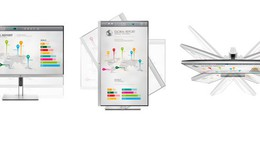Dòng màn hình HP cho công sở hiện đại
