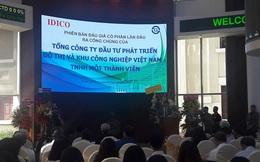 Nhiều tổ chức lớn tranh mua đẩy giá trúng bình quân của Idico lên 23.940 đồng/cp, cao hơn 33% so với giá khởi điểm