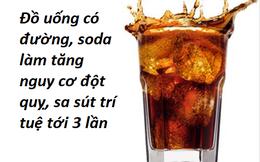 Mỗi ngày dùng loại đồ uống này 1 lần, bạn có thể mất mạng vì đột quỵ