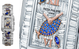 """Chiêm ngưỡng """"thế giới đại dương"""" thu nhỏ trong chiếc đồng hồ cao cấp Patek Philippe Twenty-4 Aquatic Life"""