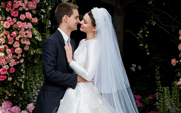 Có gì trong chiếc váy cưới Dior đầy mê hoặc của siêu mẫu kết hôn với tỷ phú trẻ tuổi Evan Spiegel?