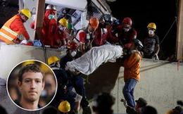 Chia sẻ nỗi đau với các nạn nhân động đất ở Mexico, ông chủ Facebook quyên góp 1 triệu USD và kêu gọi cộng đồng chung tay hành động