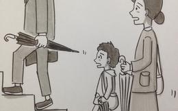 Họa sĩ Nhật hướng dẫn cách mang theo ô dù đúng cách để không gây nguy hiểm cho bản thân và người khác