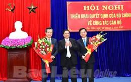 Ông Nguyễn Quang Dương được bổ nhiệm làm Bí thư Tỉnh ủy Bạc Liêu