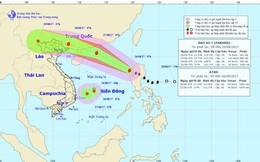 Bão số 7 kết hợp áp thấp nhiệt đới trên Biển Đông