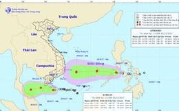Áp thấp nhiệt đới giật cấp 9 cách Côn Đảo 120 km