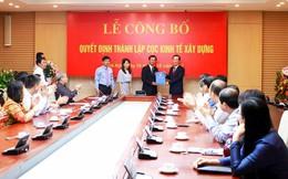 Công bố quyết định thành lập Cục Kinh tế Xây dựng
