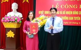Nghệ An bổ nhiệm nhân sự Ban Tuyên giáo Tỉnh ủy