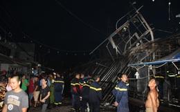 Cháy kinh hoàng ở chợ đêm Phú Quốc