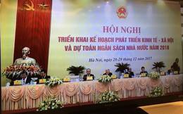 4 nhà lãnh đạo cao nhất cùng dự họp Chính phủ cuối năm