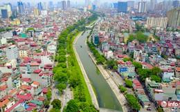 """Cận cảnh những dòng sông """"chết"""" ở Hà Nội sắp được hồi sinh"""