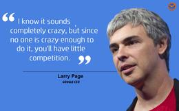 """CEO Google Larry Page: """"Công nghệ chỉ có lợi khi chúng ta ứng dụng chúng cho cuộc sống thiết thực"""""""