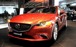 Mazda 6 2017 ra mắt ở Việt Nam với giá từ 975 triệu đồng