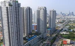 Cao ốc dày đặc trên tuyến đường huyết mạch khu nam Sài Gòn
