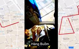 """[Video] Vụ chặt chém khách """"Tây"""": 1km đi lòng vòng thành 3km, tài xế taxi văng tục đòi 500 ngàn đồng"""