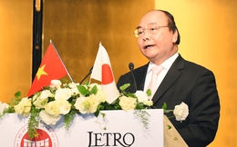"""Thủ tướng dẫn châm ngôn của người Nhật: """"Để đạt được những thành công vĩ đại, chúng ta không phải chỉ hành động mà còn phải mơ ước"""""""
