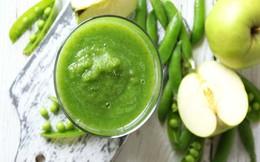 Nước ép rau xanh kết hợp trái cây và những lợi ích sức khỏe ít người biết đến