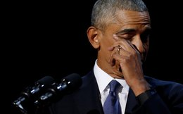 Chia tay Nhà Trắng, Tổng thống Obama khóc khi nói về sự hi sinh của vợ