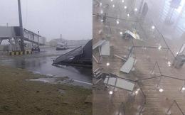 Sân bay quốc tế nổi tiếng thế giới tan hoang không nhận ra sau siêu bão Irma