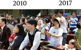 Đi chơi công viên vẫn khư khư điện thoại: Thời đại Smartphone, người ta quên đi cuộc sống thực tại rồi