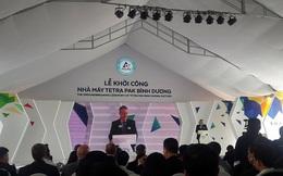 Tetra Pak khởi công xây dựng nhà máy sản xuất bao bì có tổng vốn đầu tư 2.500 tỷ đồng tại VSIP II
