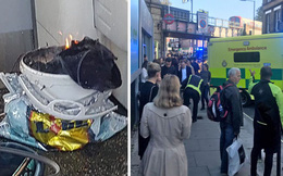 Nổ trên tàu điện ngầm ở London, nhiều người bị bỏng ở mặt