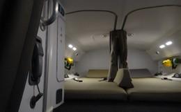 Khám phá phòng ngủ bí mật trên máy bay dành riêng cho phi công