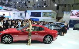Ô tô nhập khẩu giảm xuống thấp kỷ lục
