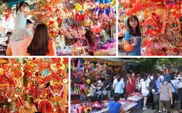 """""""Thiên đường mua sắm"""" đồ Trung thu nổi tiếng trên phố Hàng Mã"""
