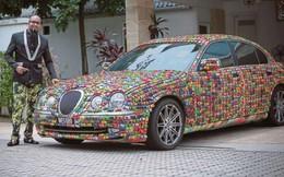 """""""Siêu xe"""" ấn tượng nhất thế giới với lớp áo đặc biệt từ hàng nghìn ô tô mô hình"""