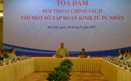 Thủ tướng lắng nghe góp ý của 14 tập đoàn tư nhân