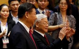 Tổng Bí thư, Chủ tịch Tập Cận Bình ăn sáng cùng Tổng Bí thư Nguyễn Phú Trọng