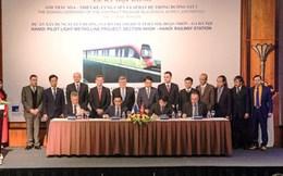 Hà Nội ký gói thầu hơn 7,6 nghìn tỷ cho tuyến đường sắt đô thị