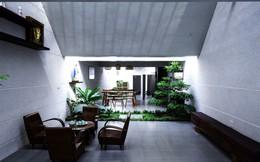 Nhà một tầng sâu 40 m lấy ý tưởng từ hang Sơn Đoòng