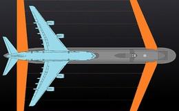 Nga đóng tàu ngầm lớn nhất thế giới, có cánh như máy bay