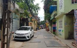 Hà Nội: Lối đi chung thành bãi gửi xe, đường biến dạng
