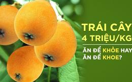 Nhật, TQ để quả này mọc ven đường, về Việt Nam 4 triệu/kg: Giá trị dinh dưỡng đến đâu?