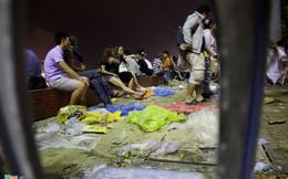 Rác ngập phố sau đêm thi pháo hoa đầu tiên ở Đà Nẵng