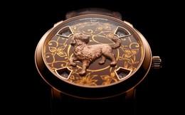 Chiêm ngưỡng chiếc đồng hồ tinh xảo mang biểu tượng của năm Mậu Tuất, cả thế giới chỉ có 12 chiếc