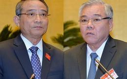 Quốc hội tiến hành miễn nhiệm 2 'Tư lệnh' ngành