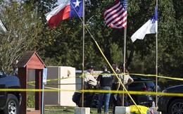 Hiện trường vụ xả súng đẫm máu tại nhà thờ Mỹ làm 27 người chết