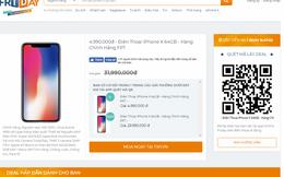 Đua nhau 'săn' iPhone X giá 4,99 triệu đồng: Trang chủ Online Friday 2017 bị sập