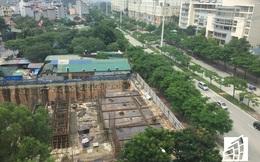 """Cận cảnh dự án """"siêu rùa"""" trên đất vàng Mỹ Đình, 9 năm đổi chủ 2 lần vẫn chưa xây nổi tầng 1"""