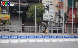 Bắt đầu lắp dải phân cách ưu tiên buýt nhanh ở Hà Nội