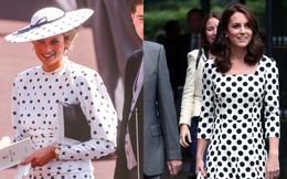 """Hóa ra phong cách thanh lịch của Kate Middleton là """"học lỏm"""" từ người khác"""